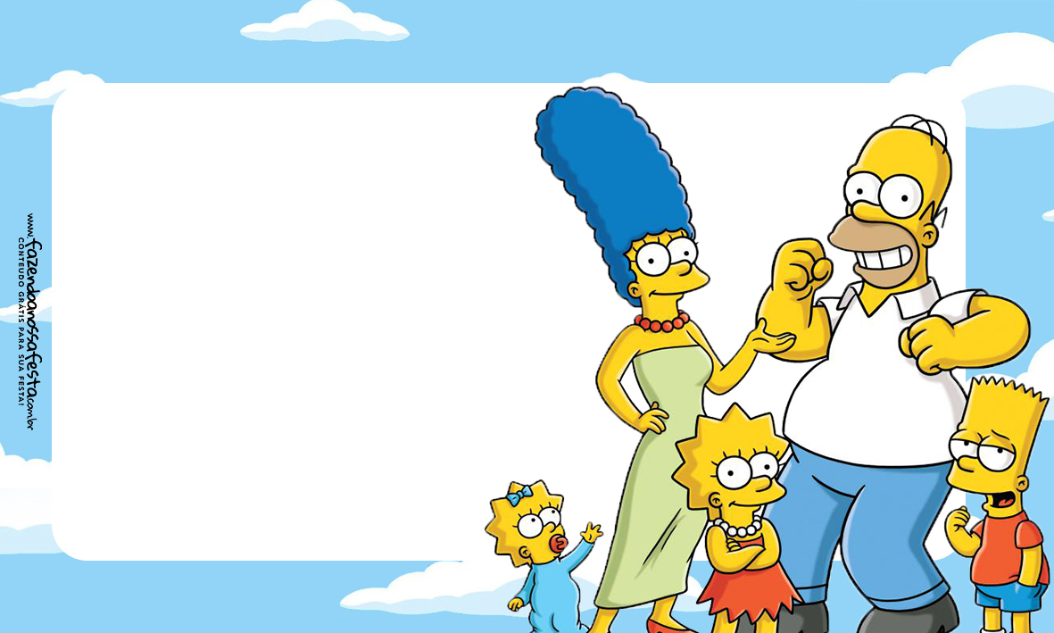 Etiqueta Volta as Aulas Simpsons 1