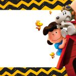 Etiqueta Volta as Aulas Snoopy 2