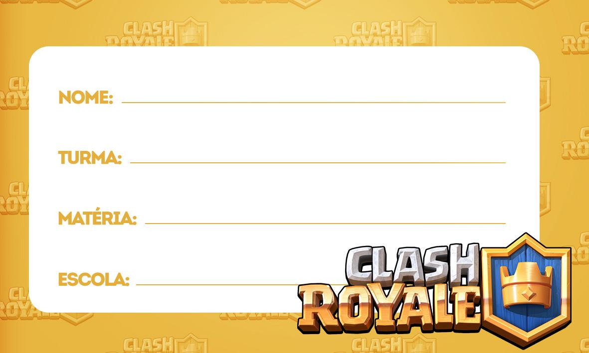 etiquetas volta as aulas clash royale 1