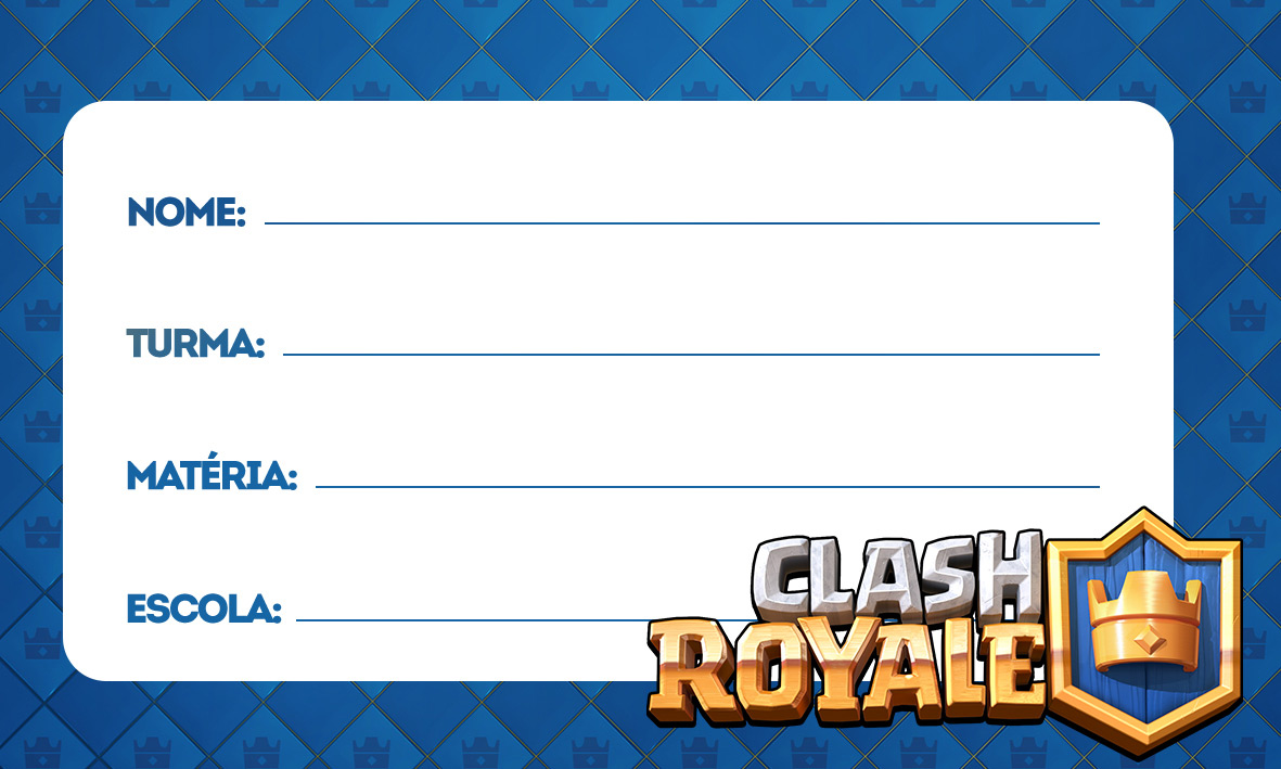 etiquetas volta as aulas clash royale 5