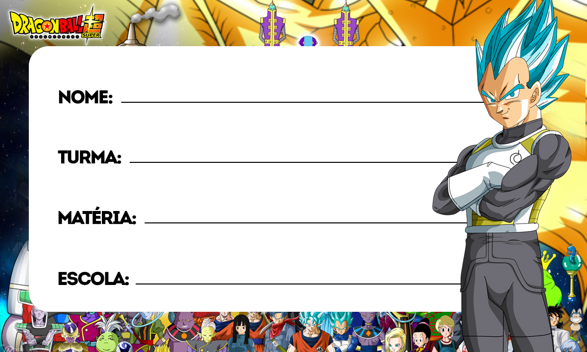etiquetas volta as aulas dragon ball super 1