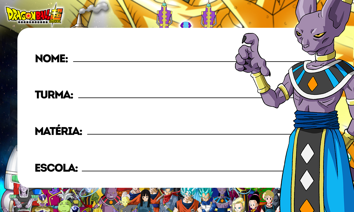etiquetas volta as aulas dragon ball super 6
