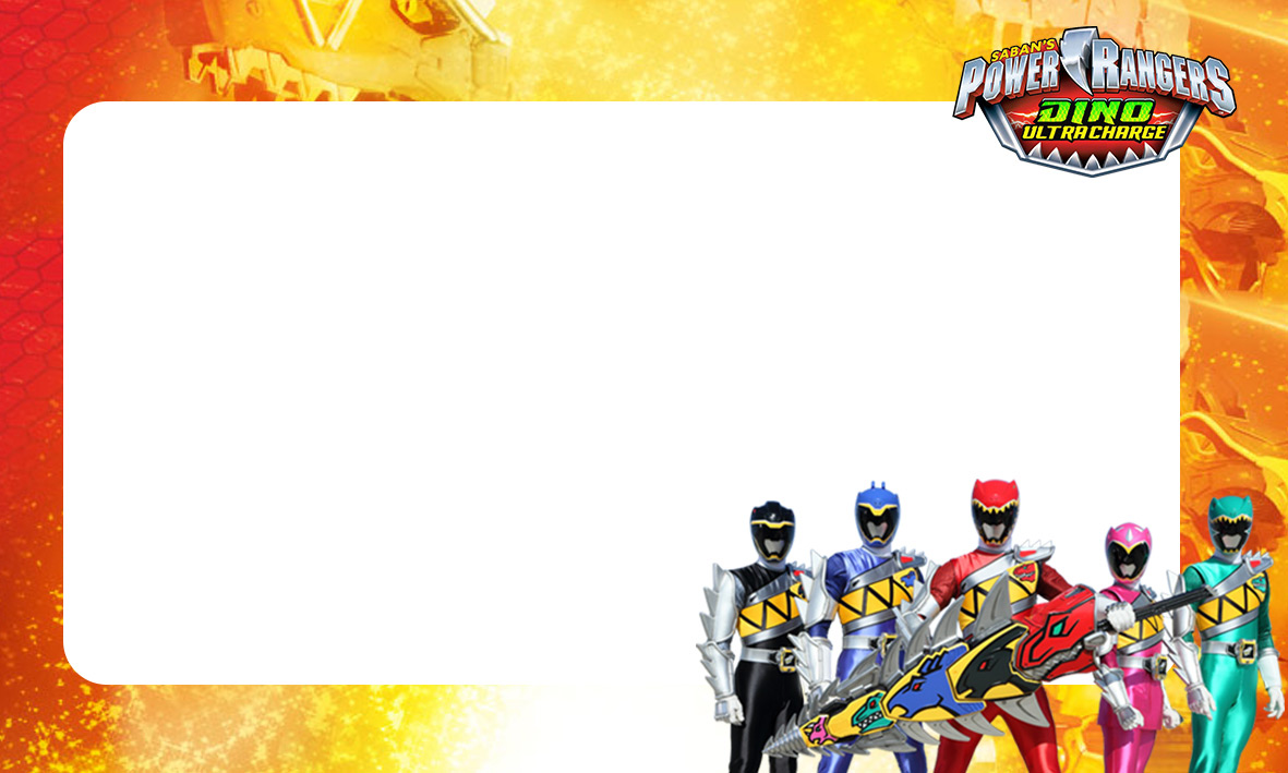 etiquetas volta as aulas power rangers dino charger 2