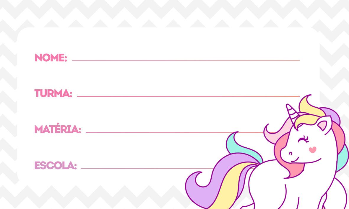 etiquetas volta as aulas unicornio novo 3