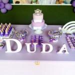 Doces Festa Princesinha Sofia da Duda