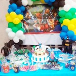 Festa Vingadores do Lucas