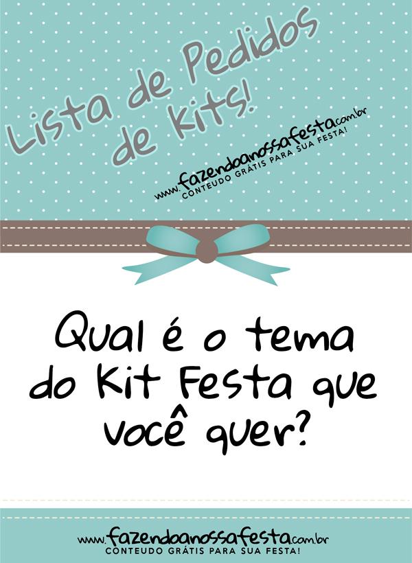 Lista de Pedidos de Kits!