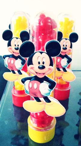 Tubetes Festa Mickey Tradicional do Guilherme