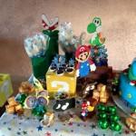Lembrancinhas Festa Mario Bros do Carlos