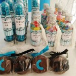 Tubetes e Balinhas Festa Azul Tiffany