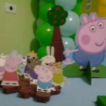 Bonecos Festa George Pig do Fabricio