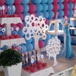 Toppers Festa Frozen da Júlia