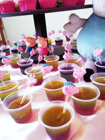 Festa Peppa Pig da Nicoly Gelatina