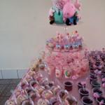 Doces Festa Peppa Pig da Nicoly