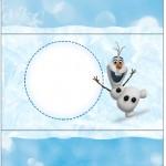 Bala Personalizada Olaf Frozen