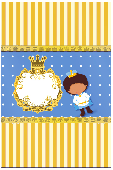 Bala Personalizada Príncipe Afro