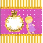 Bala Personalizada Princesa Loira