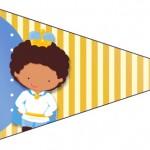 Bandeirinha Príncipe Afro 3