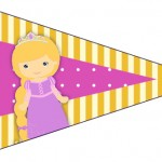 Bandeirinha Sanduiche 4 Princesa Loira