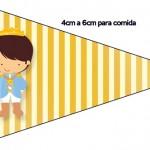 Bandeirinha Sanduiche 5 Príncipe Moreno