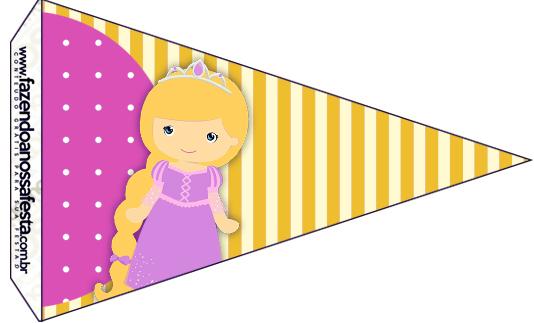 Bandeirinha Sanduiche 5 Princesa Loira