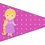 Bandeirinha Sanduiche 6 Princesa Loira