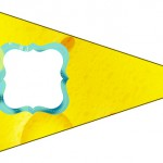 Bandeirinha Sanduiche Bob Esponja - Um Herói Fora D'Água 4