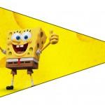 Bandeirinha Sanduiche Bob Esponja - Um Herói Fora D'Água 7
