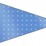Bandeirinha Sanduiche Fundo Príncipe Azul e Dourado 9