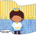 Bandeirinha Sanduiche Príncipe Afro