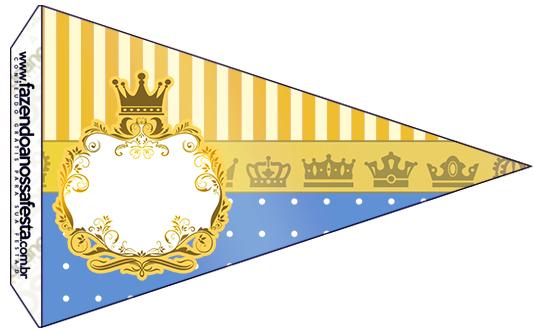 Bandeirinha Sanduiche Príncipe Afro 2