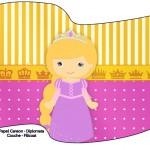 Bandeirinha Sanduiche Princesa Loira