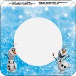 Bandeirinha Varalzinho Olaf Frozen 1