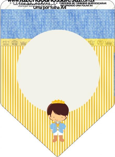 Bandeirinha Varalzinho Príncipe MorenoBandeirinha Varalzinho Príncipe Moreno