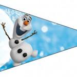 Bisnaga Brigadeiro 4 Olaf Frozen