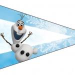 Bisnaga Brigadeiro 5 Olaf Frozen