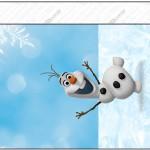 Bisnaga Brigadeiro Olaf Frozen 2