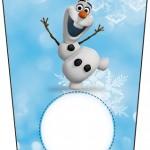 Bisnaga Flip Top Olaf Frozen