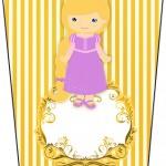 Bisnaga Flip Top Princesa Loira
