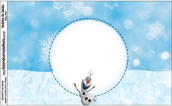 Bolinha de Sabão Olaf Frozen