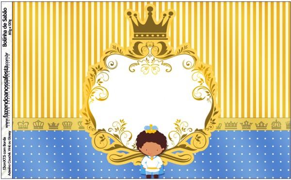 Bolinha de Sabão Príncipe Afro
