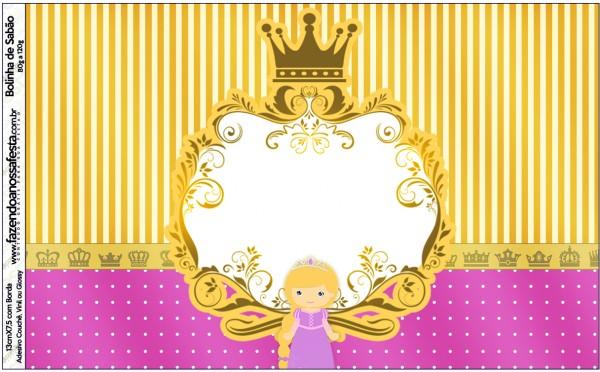 Bolinha de Sabão Princesa Loira