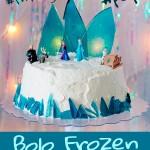 Bolo Frozen Gelado – Passo a Passo!