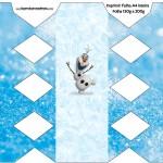 Caixa Bala Olaf Frozen
