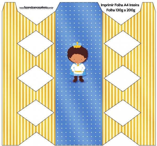 Caixa Bala Príncipe Afro