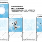 Caixa Bis Olaf Frozen