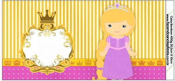 Caixa Bombom Princesa Loira 1
