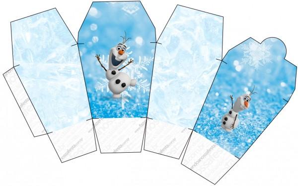 Caixa China in Box Olaf Frozen