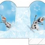 Caixa Coração Olaf Frozen