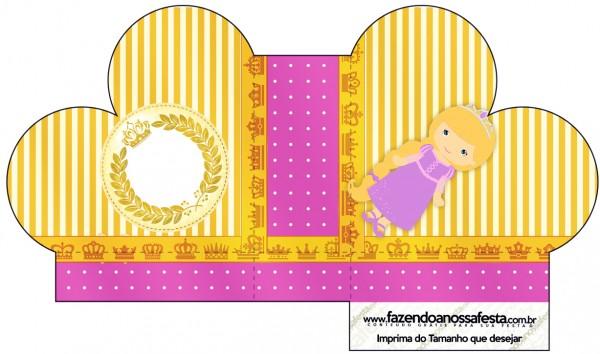 Caixa Coração Princesa Loira